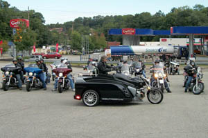 Motorcycle rallies are often used as fund-raisers